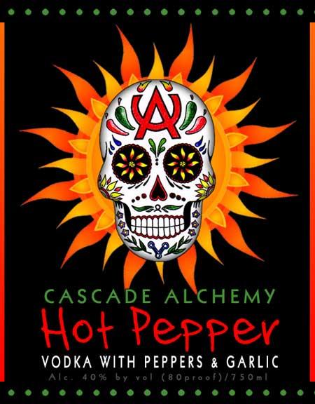 cascade-alchemy-hot-pepper-vodka-label